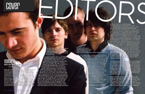 MELT Magazine - Editors feature