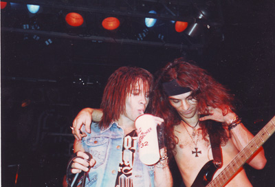 Ray West and Paul DiBartolo @ The Akron Agora, 1990